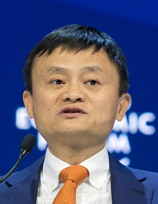 Jack Ma, YGL, Executive Chairman, Alibaba Group Holding, People's Republic of China